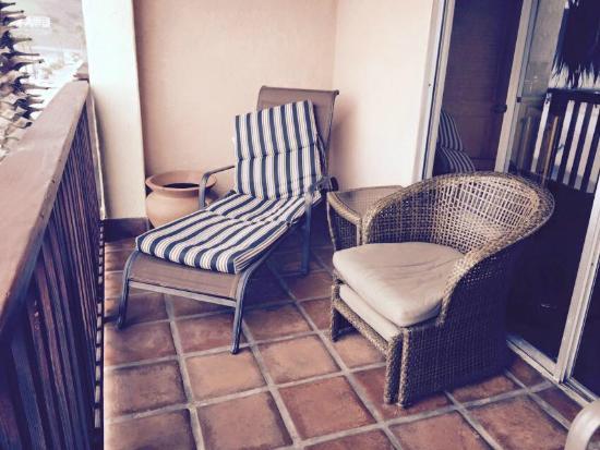 Inn at Avila Beach: Balcony of Ocean Front Room