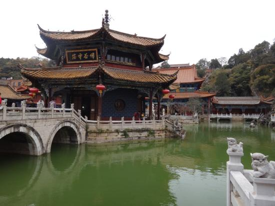 Yuantong Temple: 境内