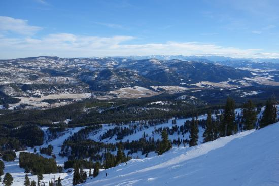 Bridger Bowl: View from the top.