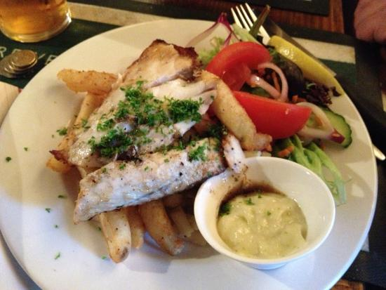 Shamrock Hotel: grilled fish