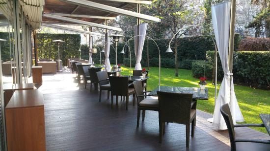 ABaC Barcelona : Restaurant terrace