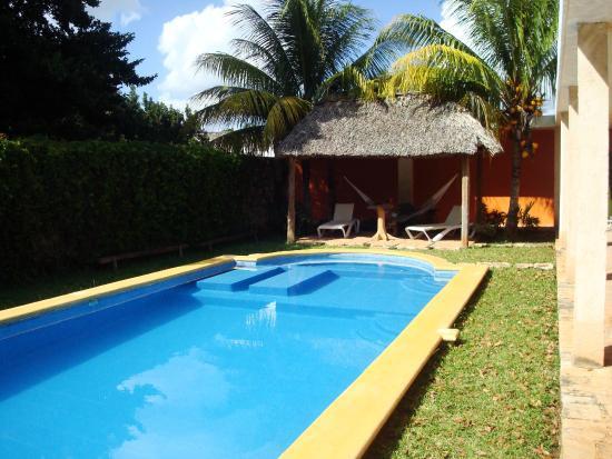 Hotel Tunich Beh: The courtyard