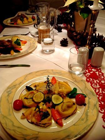 Hotel Jaegerhof: Dinner, Dec.4th 2014