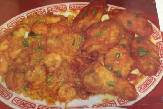 Fried chicken wings with shrimp fried rice picture of marco polo marco polo mongolian barbecue fried chicken wings with shrimp fried rice forumfinder Choice Image