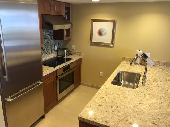Hyatt Residence Club Maui Ka Anapali Beach Kitchen In 2 Bedroom Unit