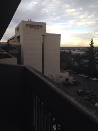 DoubleTree by Hilton San Jose : View from the balcony