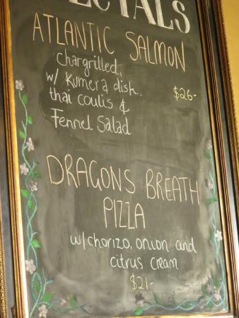 Old City Bank Brasserie: Specials
