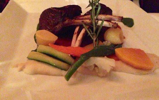 Mirabelle: Local lamb chops
