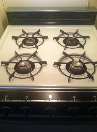 Hospitality House : gas stove