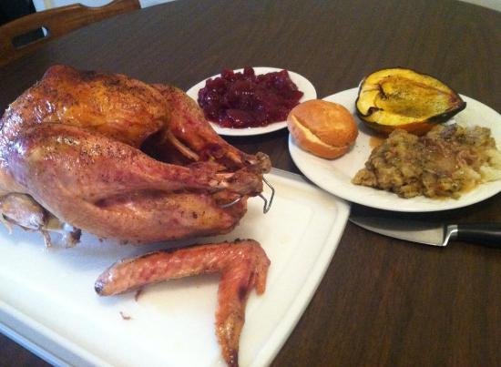 Hospitality House : turkey dinner