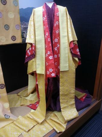Costume Museum: Full size kimono
