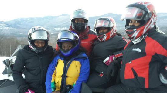 Northern Extremes Snowmobiling - Tours: Awesome day with the girls