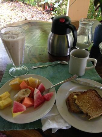 Nosara B&B Retreat : breakfast