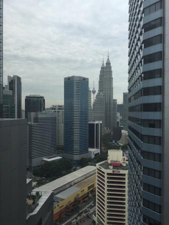 DoubleTree by Hilton Kuala Lumpur: View from the terrace