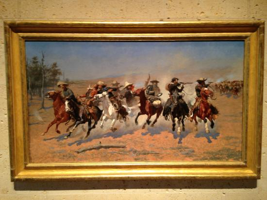 Amon Carter Museum of American Art : Frederick Remington - A Dash for the Timber