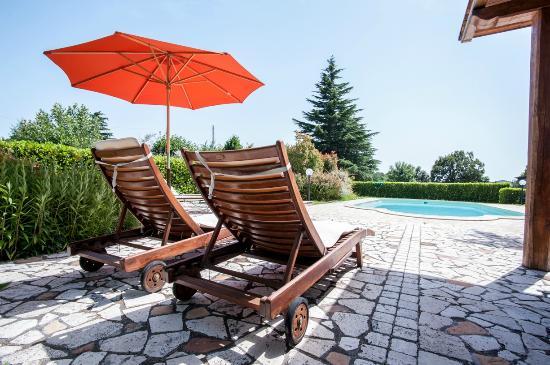 La Villa di Lucia : piscina