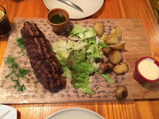Steak y Huancaína - Picture of Tabla Luna, Cairo - Tripadvisor