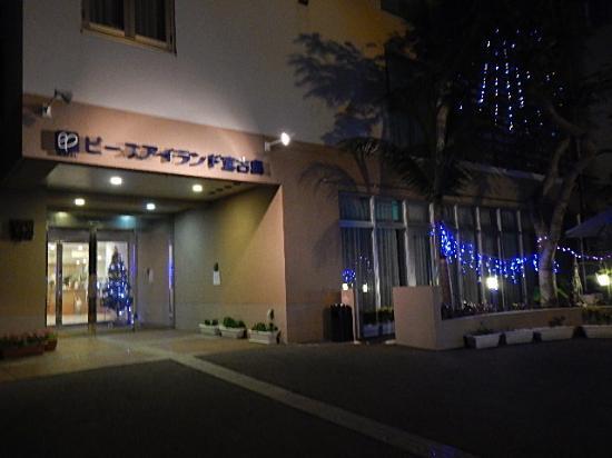 Hotel Peace Island Miyakojima: ホテル正面外見