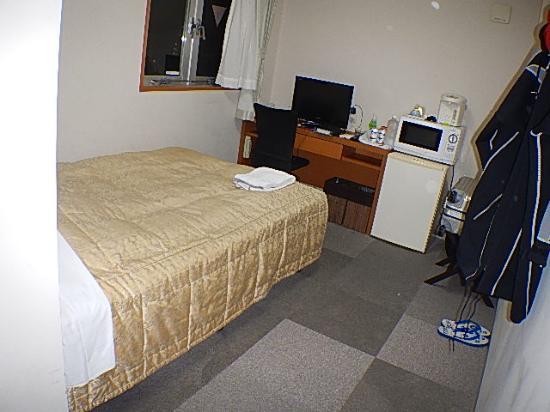 Hotel Peace Island Miyakojima: 最初の喫煙シングルルーム