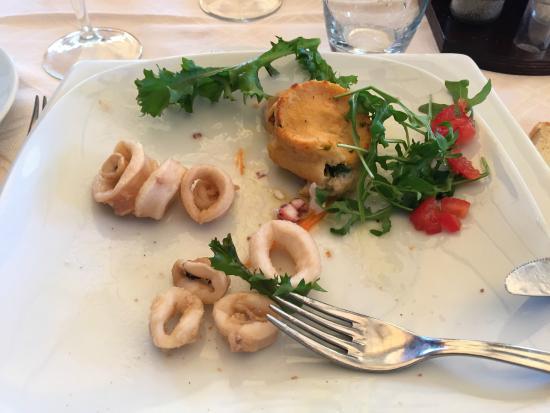 Ristorante Calypso : Anelli di calamaro antipasto fritto
