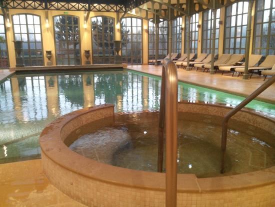 Georges Blanc Parc & Spa: piscine intérieure