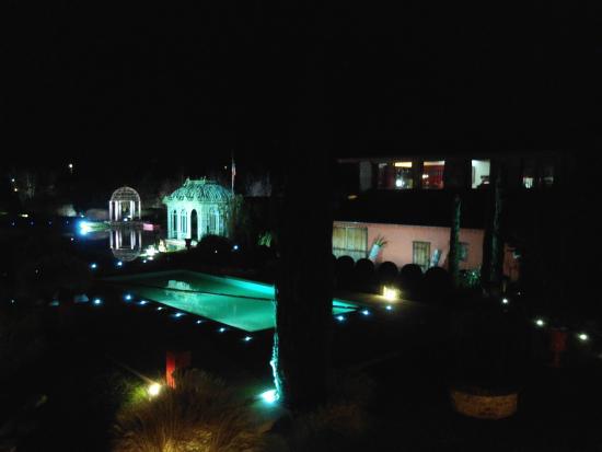 Georges Blanc Parc & Spa : Vue de la chambre de nuit