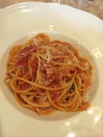 San Marco: pasta con pomodoro