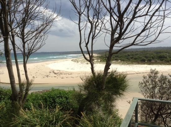Berrara Beach Chalets: view from the balcony