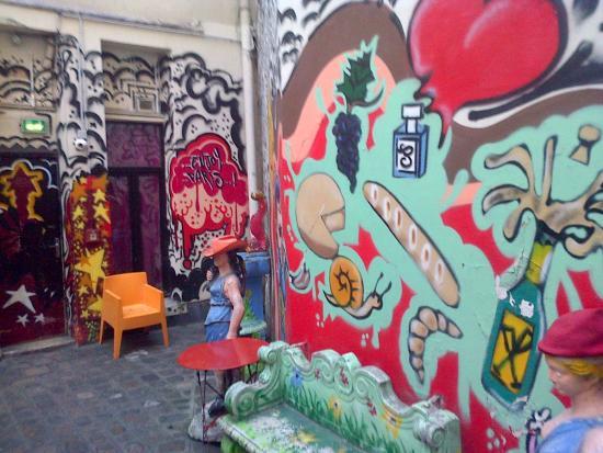 Friend's Hostel: El patio del hostel