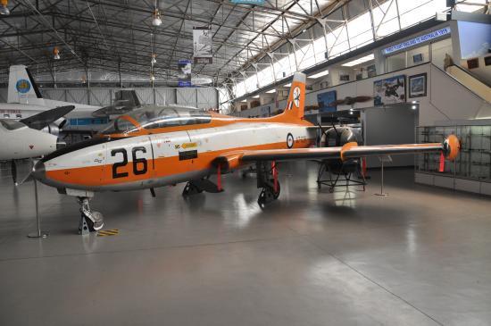 South Australian Aviation Museum: Macchi trainer