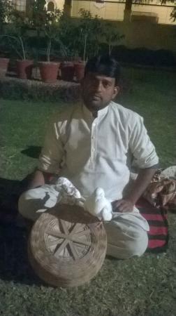 Fort Khejarla: Mr. jamat ali's magic show