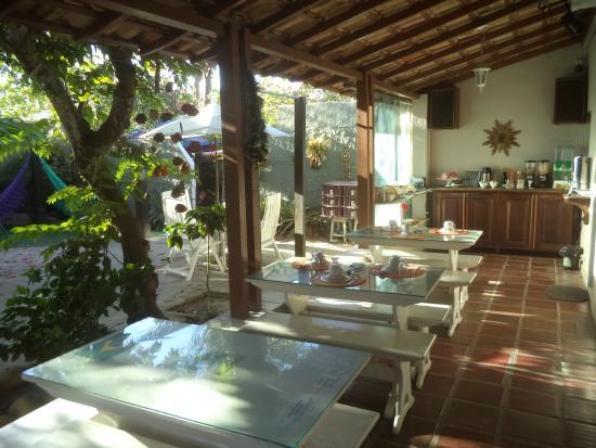 Hostel Marina dos Anjos: Refeitório  super aconchegante