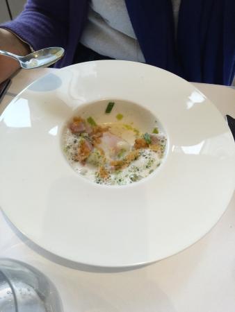 Oeuf Cuit Picture Of Restaurant La Table D 39 Hotes Ouistreham Tripadvisor