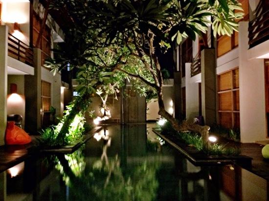 "Casa Bidadari: ""pool area"""