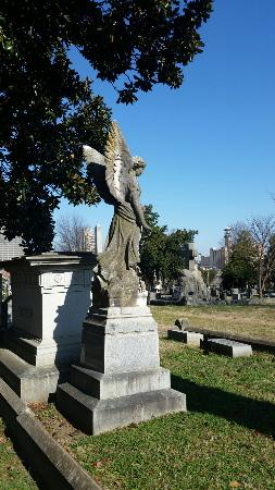 Mount Holly Cemetery: Angel