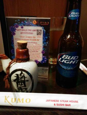 Kumo Japanese Steak House & Sushi Bar: Kumo restaurant