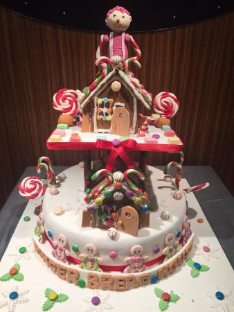 Ginger bread house at MKOP!!