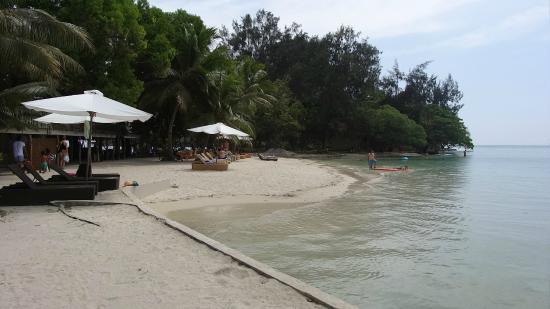 Aqua on Erakor: Erakor Island lagoon