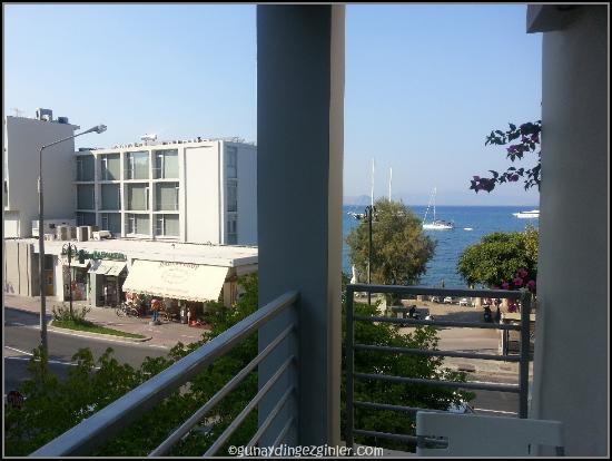 Triton Hotel: seaview