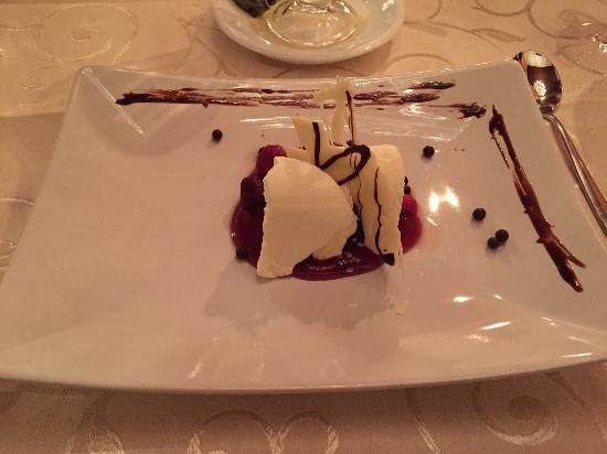 Salitre: Dessert