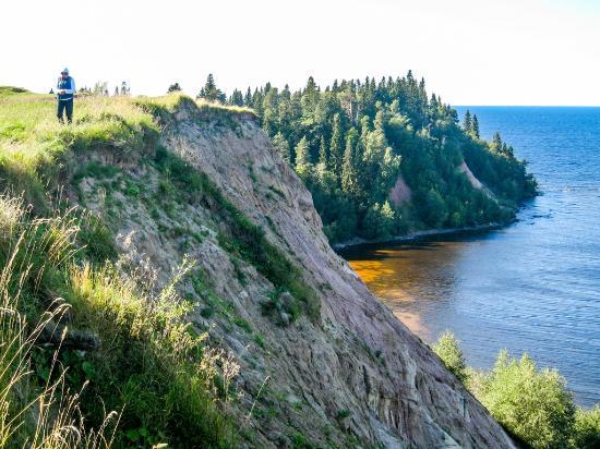 Vytegra, Rússia: Гора Андома - Андомский мыс