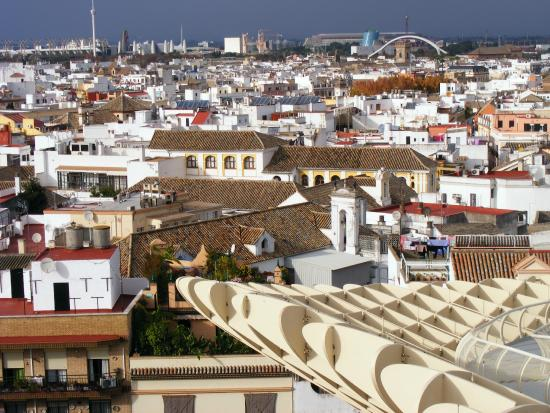 Apartamentos Las Cruces : Una foto de Sevilla