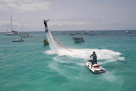 Flyboard Cabo Verde