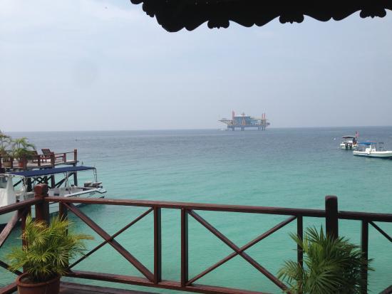 Sipadan Water Village: View from room
