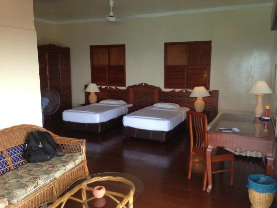Sipadan Water Village: Bedroom