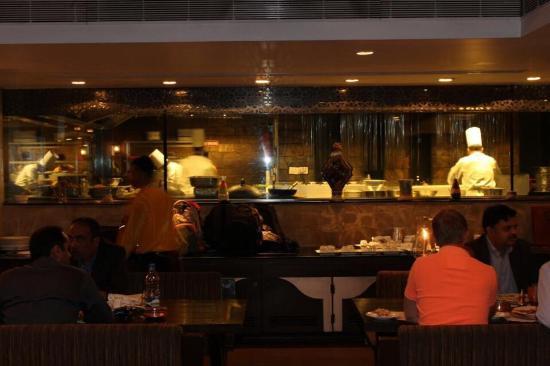 Khansama: The restaurant -inside