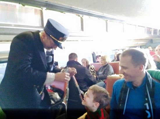 French Lick Scenic Railway: conductor