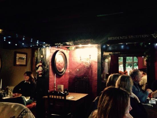 The Bull Inn Restaurant: So cosy