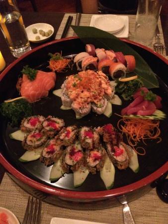 Nishi Restaurant: Sushi platter