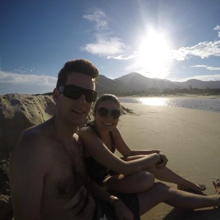 Siriu Beach: Por do Sol
